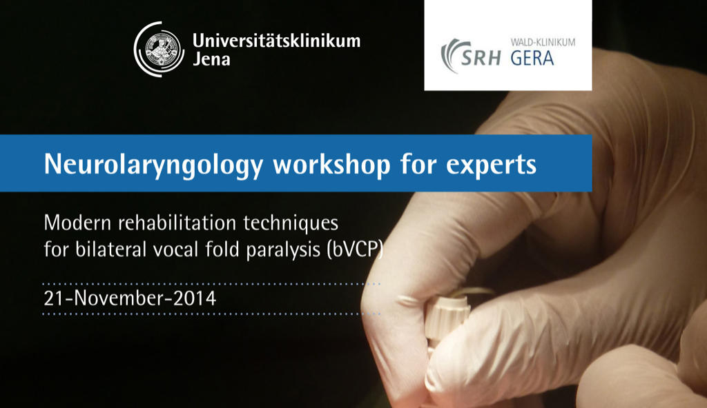 Neurolaryngology Workshop for Experts - November 2014
