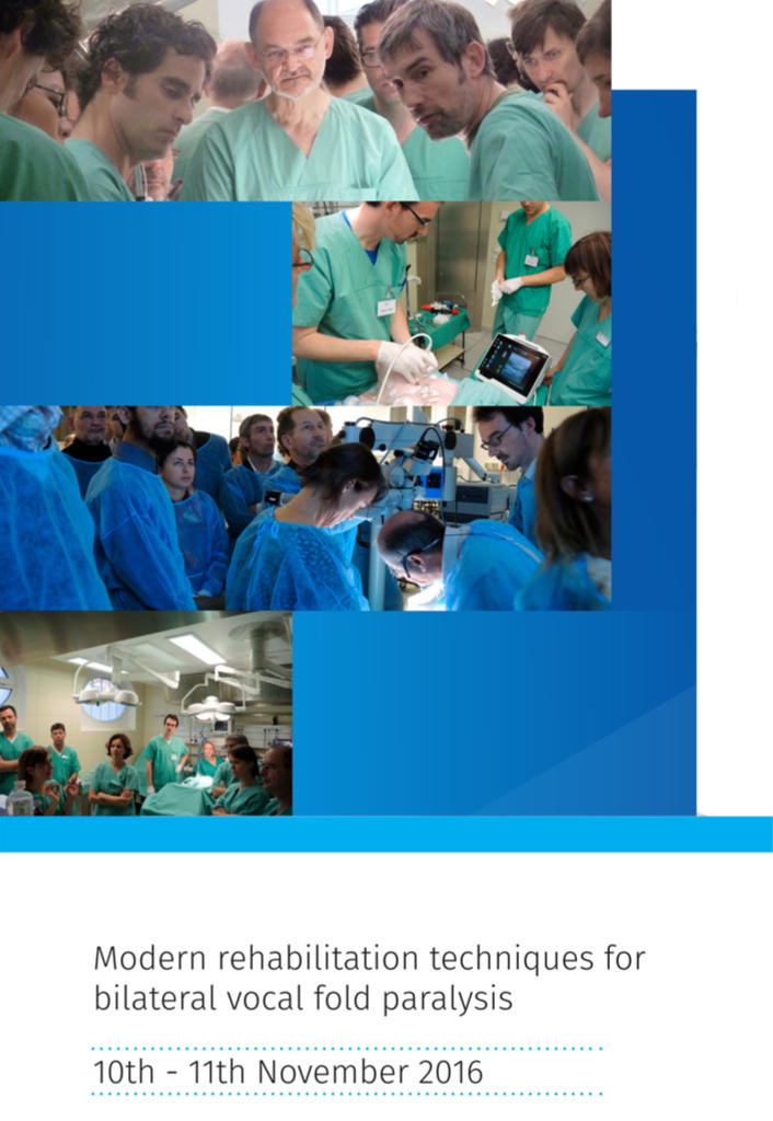 3rd Neurolaryngology Workshop for Experts